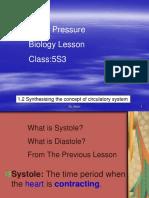 Blood Pressure Chapte1 Bio Lesson 4