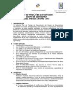 Plan Capacitaciòn 2015