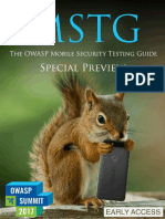 Mobile Security Testing Guide Preview