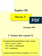 Rayonnements 3 FEZ Rayons X