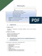 Fatoração_Plano de Ensino