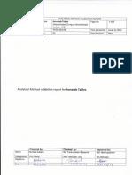 Method Validation - Report