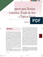 Transporte Para Turistas - Conceitos, Estado Da Arte e Topicos Atuais