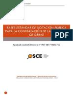 Bases Estandar Transitabilidad Cochabamba 2017