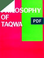 Philosophy of Taqwa