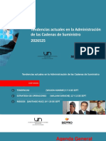 CLASEMODULO1Tendencias Actuales en La Administración de Las Cadenas de Suministro