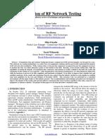 Anritsu - Evaluation of RF NetworkTesting