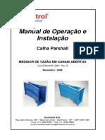 dimensionamento calha parshall.pdf