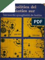 Geopolitica del Atlantico Sur - Quagliotti de Bellis - 1976