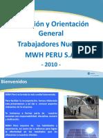 MWH Peru - Induccion y Orientacion General- 2010 (Rev 1)