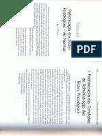 Padronização  dos testes psicológicos - CAP-4