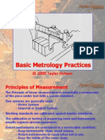 Basic Metrology Practices TAYLOR HOBSON