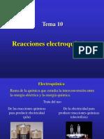 Reacciones de Oxido reducción