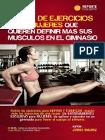 Rutina de Ejercicios Para Mujeres Que Quieren Definir Más Sus Músculos en e