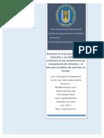 Evolución en el procesamiento de alimentos y las deficiencias crecientes en las competencias de manipulación de alimentos - el reto para la política de nutrición en Europa.doc