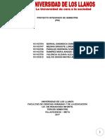 proyecto integrado de semestre