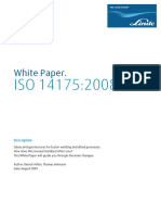 Arc Basics - FA 2009 ISO 14175 Revised Standard