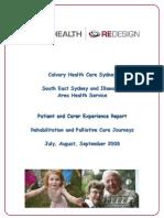 CHCS Patient Journey Project Report