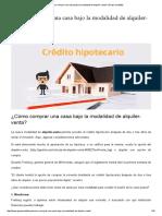 ¿Cómo comprar una casa bajo la modalidad de alquiler-venta_ _ Grupo Contable.pdf