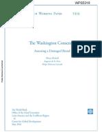 Revisando Consenso Washington