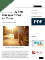 K-Indie_ Hay Algo Más Que K-Pop en Corea