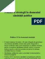 Politici Si Strategii SP