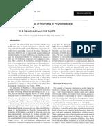 1997 Dahanukar Current Status of Ayurveda in Phytomedicine