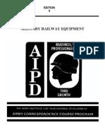 US Army Railroad Course - Military Railway Equipment TR0660