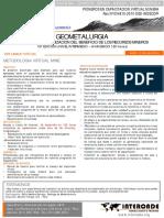 Resumen Diploma Geometalurgia