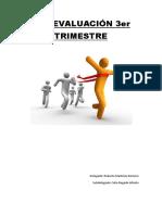 Pre-evaluación 3er Trimestre