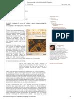 Desprecariza-Ação_ a Psicopatologia Do Trabalho