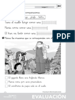 evaluacion lengua primero unidad  5