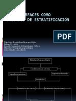 Las Interfaces Como Unidades de Estratificación
