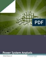 Power system analysis slides