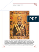 45 - Saint Nicholas the Wonder Worker, Archbishop of Myra in Lycia