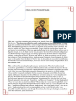 11 - The Holy Apostle and Evangelist Mark