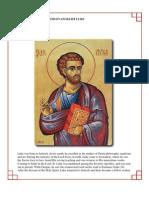 32 - The Holy Apostle and Evangelist Luke