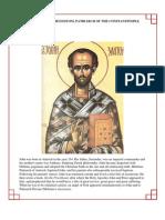 40 - Saint John Chrysostom Patriarch of Constantinople