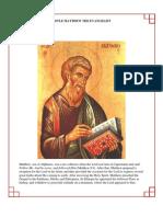 41 - The Holy Apostle Matthew the Evangelist