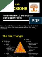 Fuego y Explosiones de Materiales Quimicos PRMD