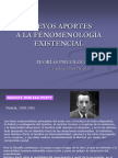 Nuevos Aportes a La Fenomenologia Existencial