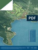 Lustica Bay Town Masterplan 1