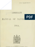 Admiralty Manual of Navigation, 1914