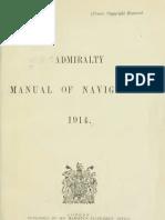 Admiralty Manual of Navigation, 1914