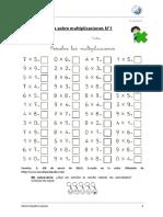Ejercicio de Multiplicaciones 1