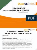Curvas de Operacion de Protecciones en Baja Tension