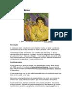 LITERATURA - Pré - Modernismo