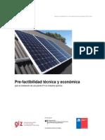 Prefactibilidad de Proyecto Solar en Chile