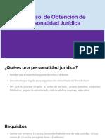 Obtener personalidad juridica