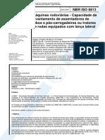 NBR ISO 8813 - Maquinas Rodoviárias